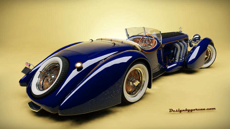 1932 mercedes benz roadster