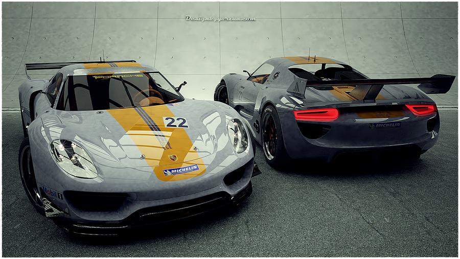 porsche 918 rsr 2012 by yorzua - Porsche 918 Rsr Wallpaper
