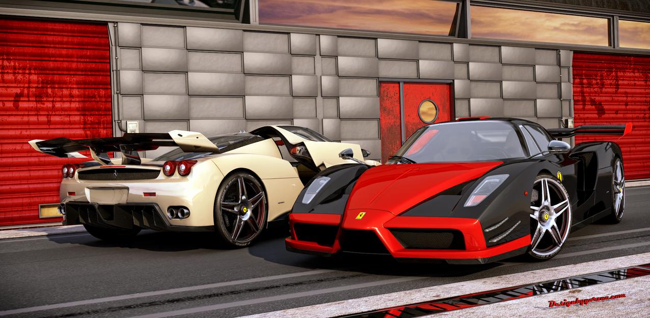 Ferrari Enzo Custom twin 2014 by Yorzua on DeviantArt