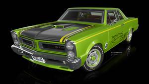 Pontiac Gto Vray front