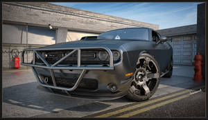 Dodge Challenger RT 2015 by Yorzua