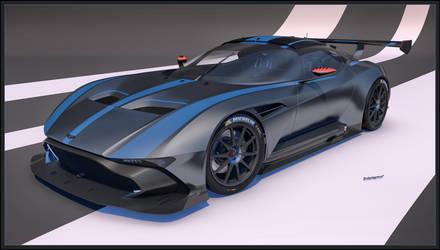Aston Martin Vulcan front 2016 by Yorzua