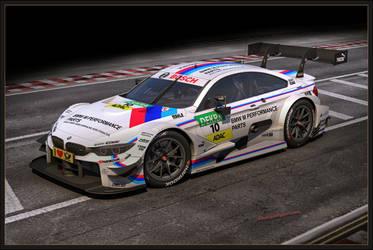 BMW M4 DTM 2015 front by Yorzua