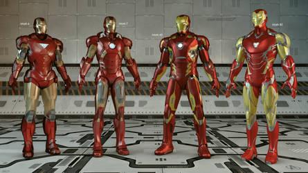 Iron Man Family