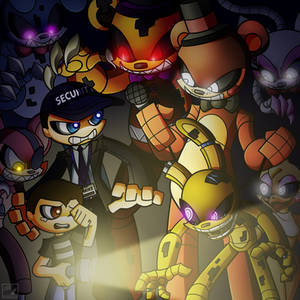 'All the Five Nights' Cover Art