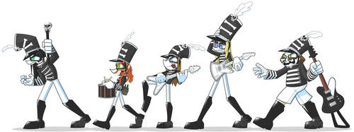 Deth Marching Band by Grimmstein