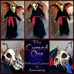 Halloween Costume 2018: The Cursed One by Armorwing