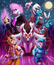 Mystery Skulls Tribute by Armorwing