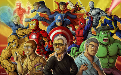 Thanks for the Adventures - Marvel Tribute by Armorwing