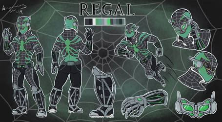 Spidersona Challenge: Regal by Armorwing