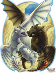 I Belong With You - HTTYD Farewell by Armorwing