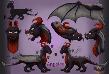 Angeloe - Reference Sheet by Armorwing