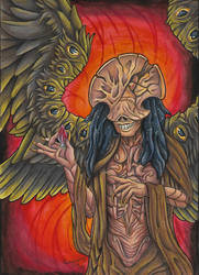 A is for Angel of Death by Armorwing