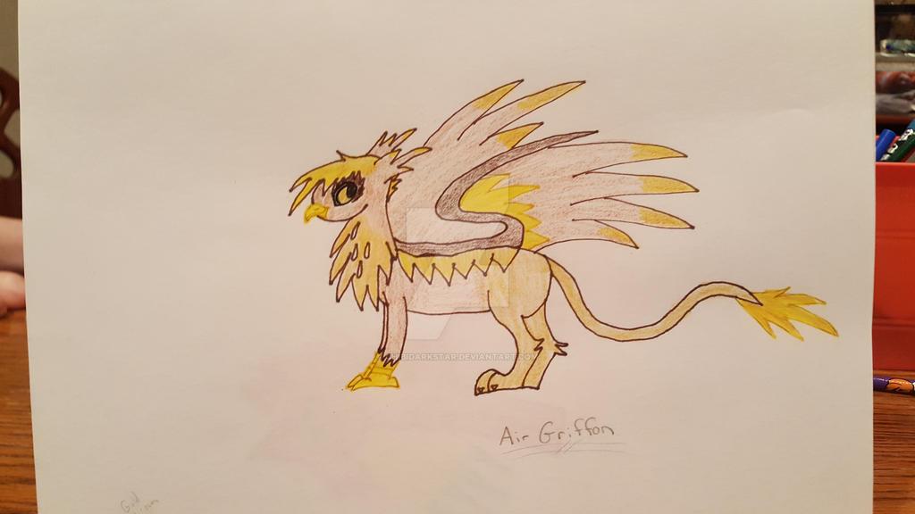 Griffin Air by chibidarkstar