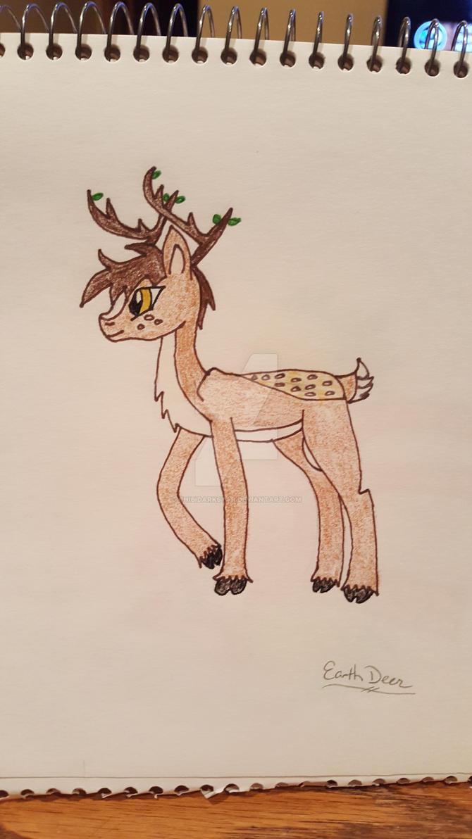 Earth Deer by chibidarkstar