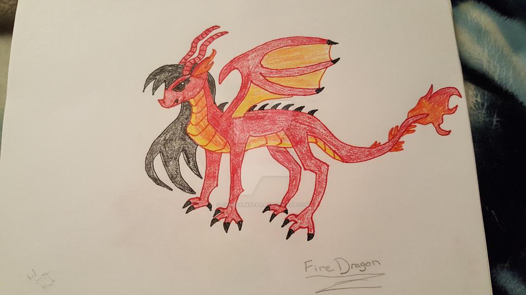 Fire Dragon by chibidarkstar