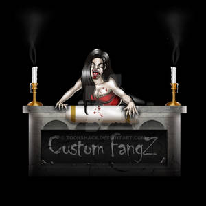 Custom Header for Custom Fang website.