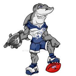 Glasgow Sharks Mascot