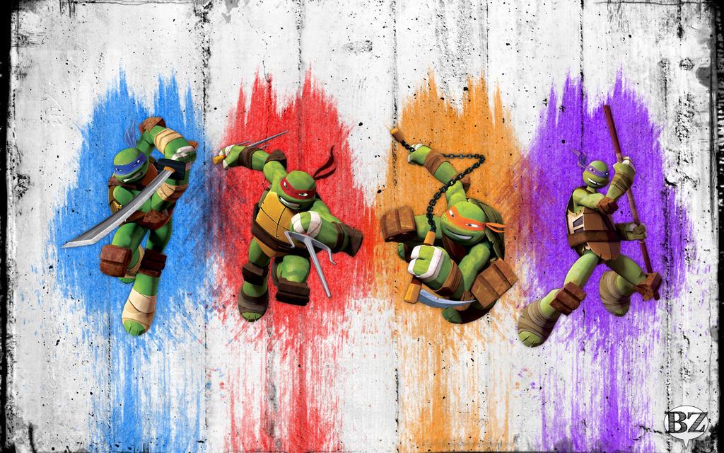 Teenage Mutant Ninja Turtles By Bzorio