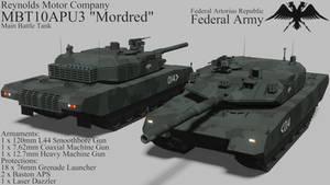 [REMAKE] Mordred Main Battle Tank