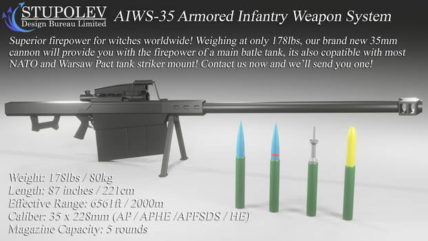 AIWS-35 Armored Infantry Weapon System