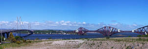 Forth Bridges, Scotland by iia02dennisg