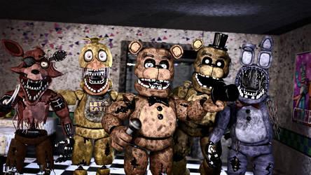 The Old animatronics by ShadowSFM2003
