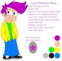 Lucas Reference Sheet by HeartinaRosebud