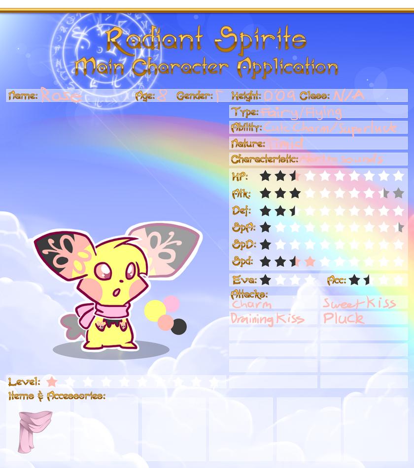 RS: Rose Reference Sheet by HeartinaRosebud