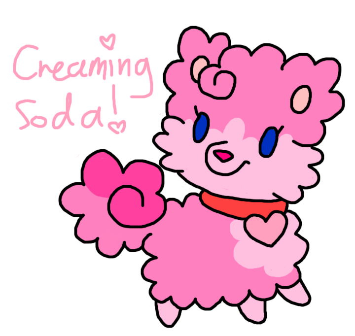 Creaming Soda-Pom (Closed) by HeartinaRosebud