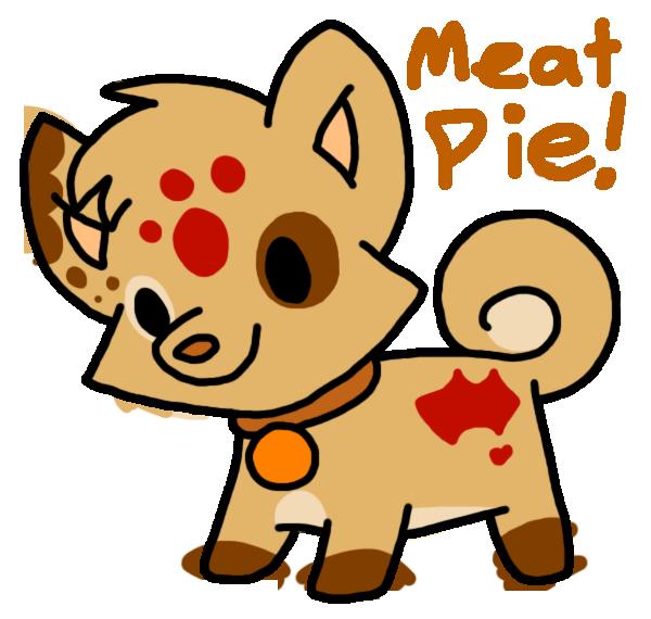 Meat Pie Soda-Pom (Open) by HeartinaThePony