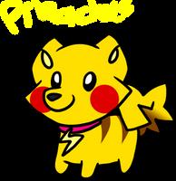 Pikachu Soda-Pom (Open) by HeartinaRosebud