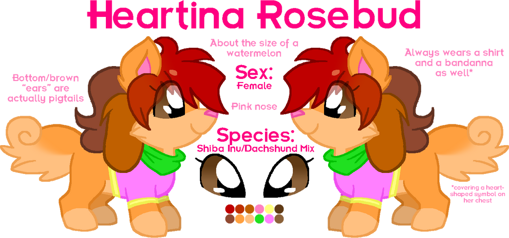 Heartina Rosebud '16 by HeartinaRosebud
