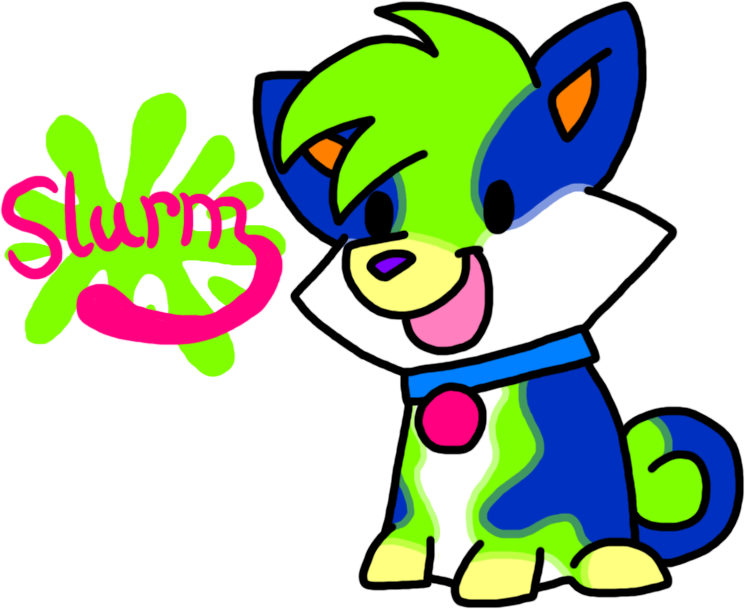 Slurm Soda-Pom (Open) by HeartinaRosebud
