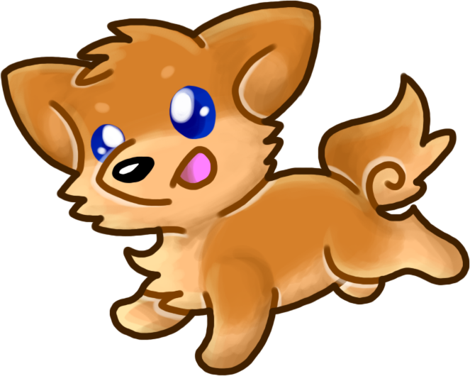 Smol Doge by HeartinaRosebud