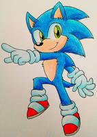 Fuzzy Blue Speedster