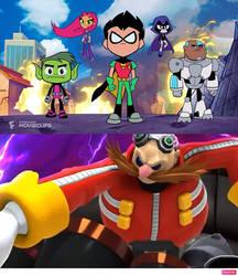 The Titans VS Dr. Eggman