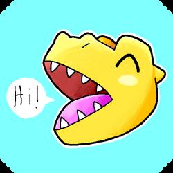 Happy Agumon