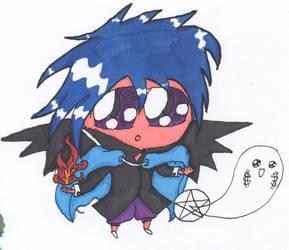 Chibi Mage Colored by ninja-urchin