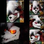 Lycanroc Fursuit Head by anonomas11