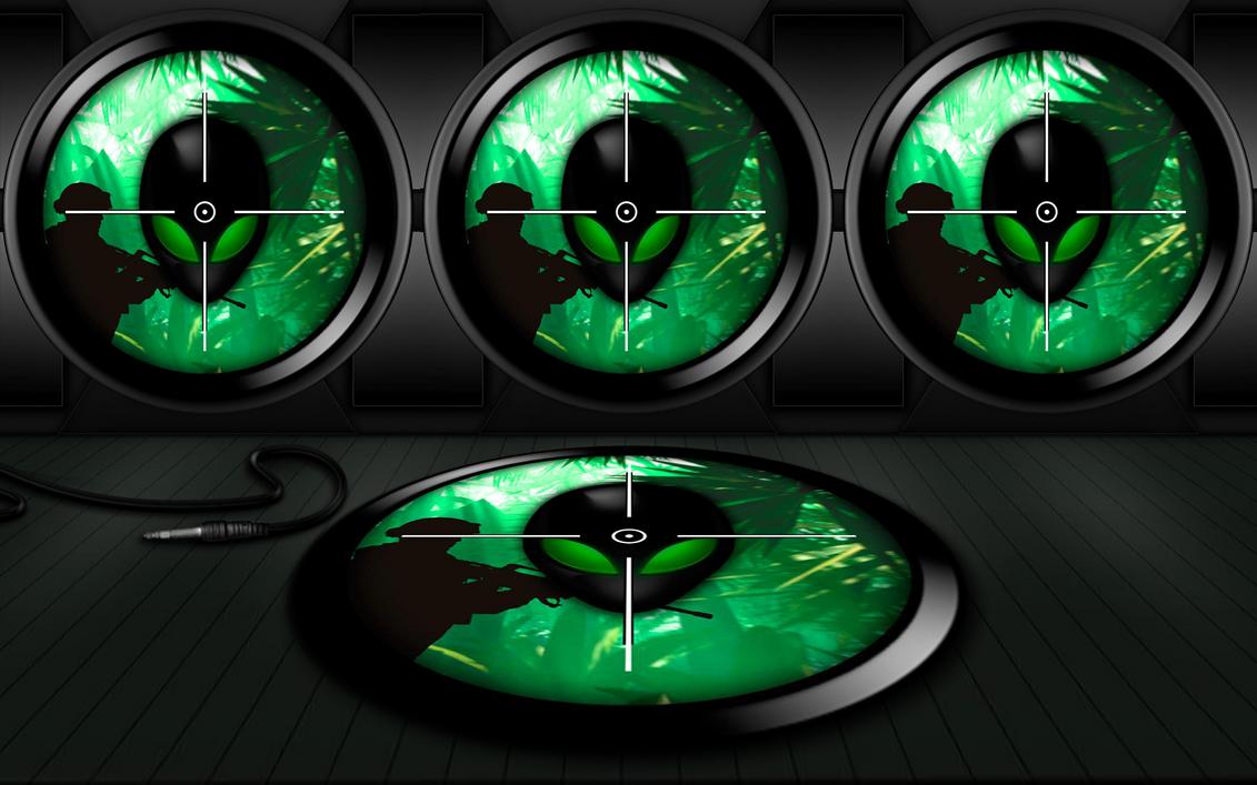 wallpaper alienware green by alienware asus by fafa116 on