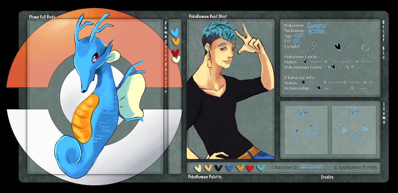 Pokemon Amie: Garrus by ClickMist
