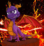 Spyro the Dragon.
