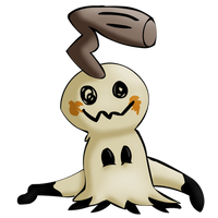 Broken Mimikyu Shaded