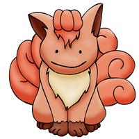 Vulpix Ditto Shaded
