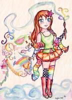 . .Coloring Tajii. . by ongaku-suki