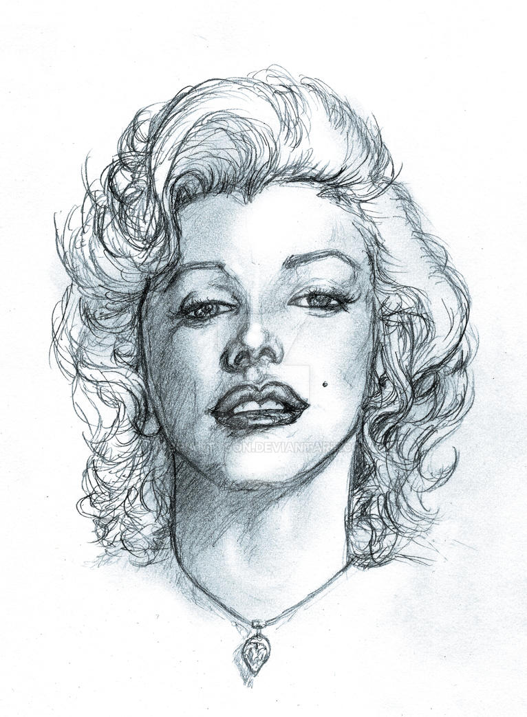 Marilyn 2013a by BrianTyson