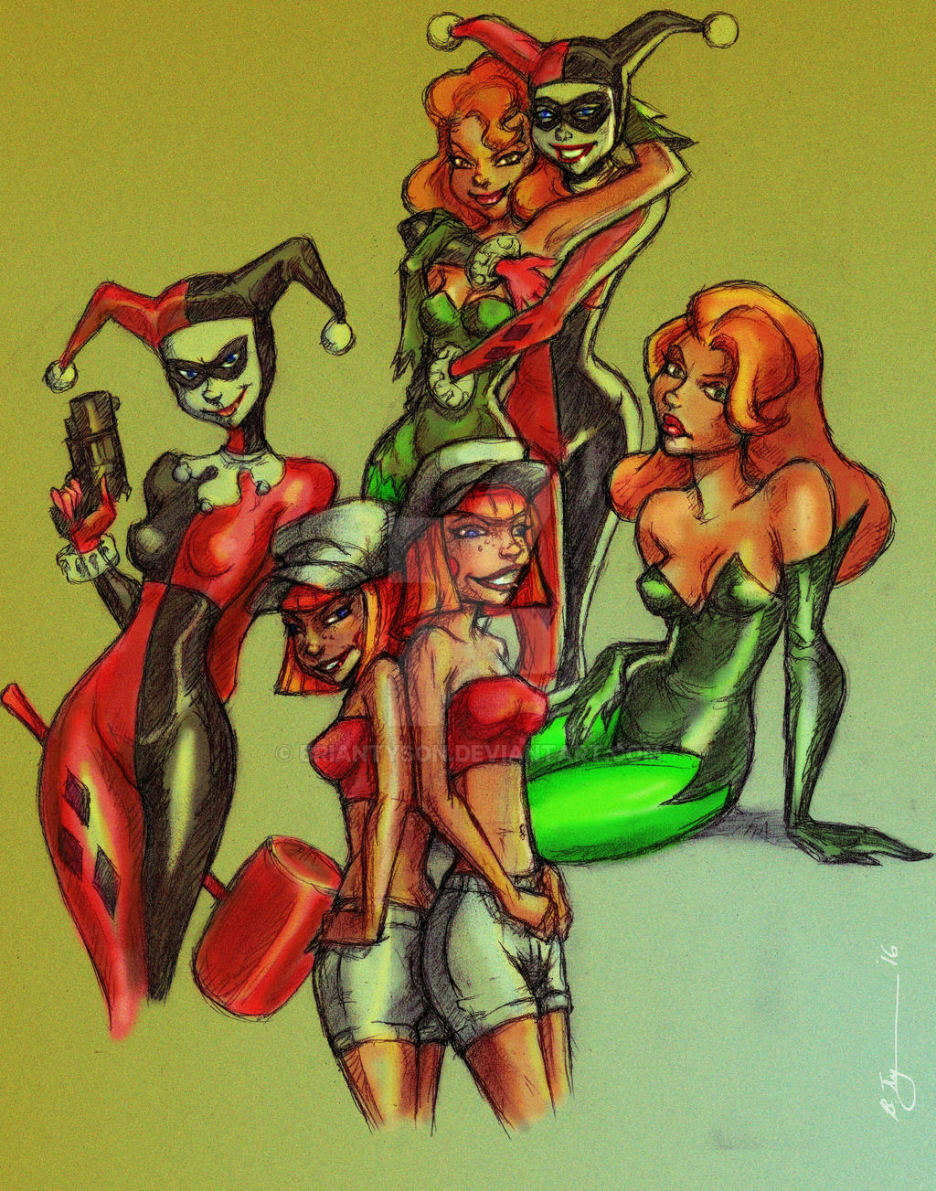 Image Result For Harley Quinn Close