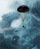 Neptunian Descent by Eduardo-Tarasca