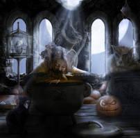 Pumpkin Soup..... again by Notvitruvian